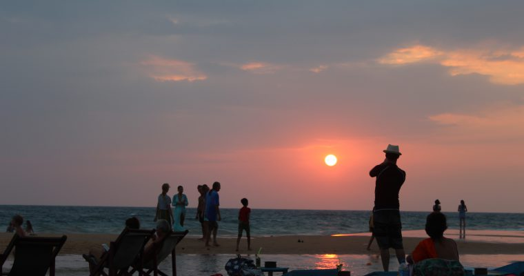 Hikkaduwa sunset